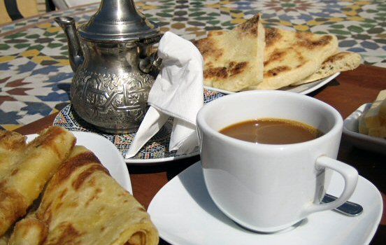 A sip of Arabian coffee