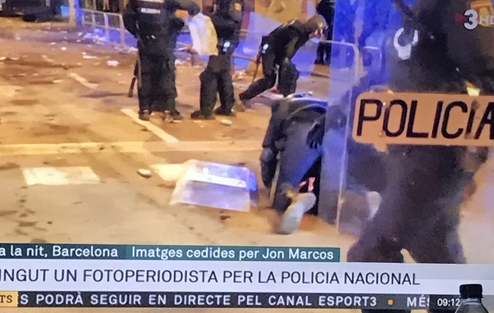 Riots on TV