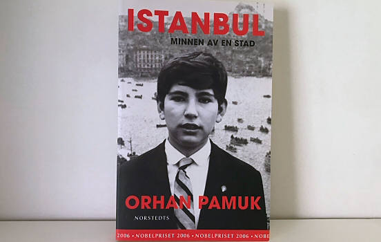 Istanbul memories and the city, cover