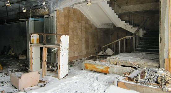 Supermarket in Pripyat