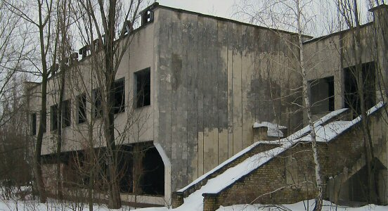 Building in Pripyat