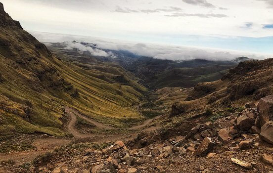 Looking for dragons in Lesotho