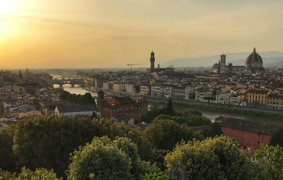 Visiting the masters of Florence