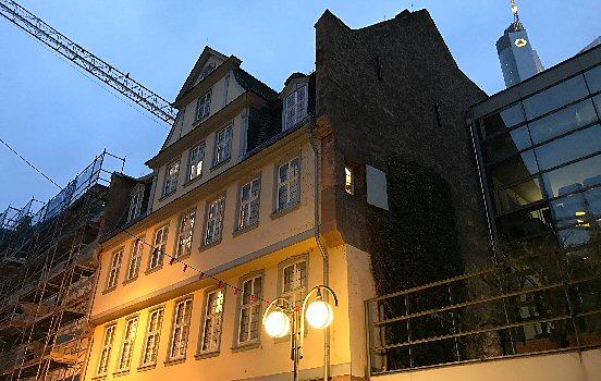 Silent night in Frankfurt