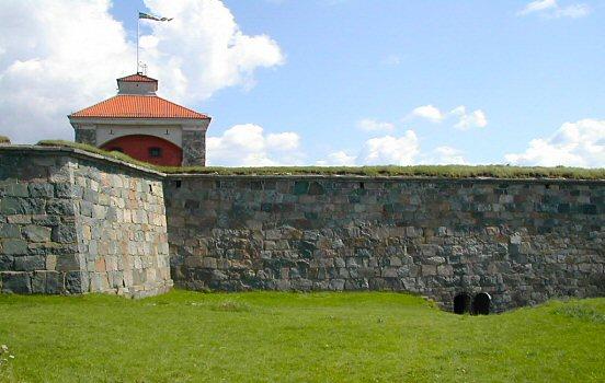 Nya Älvsborg fortress walls