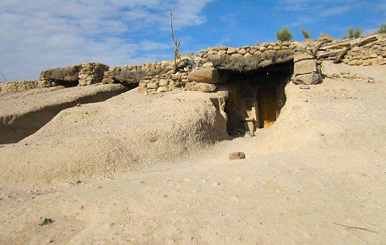 Cave in Meymand