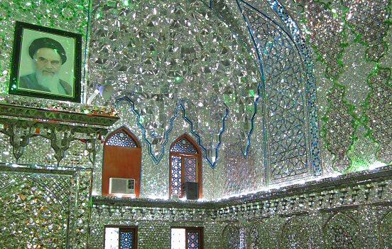 Shrine interior