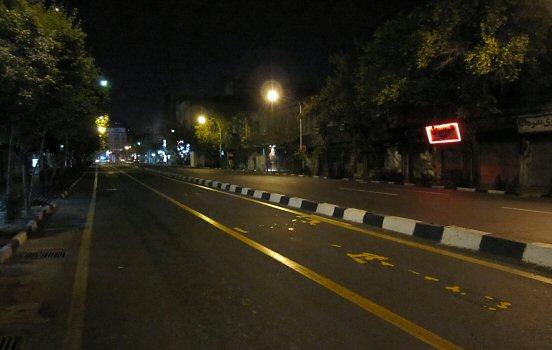 Street in Tehran
