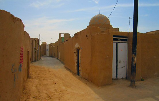 Alley in Yazd