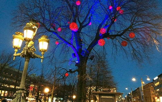 Gothenburg Christmas lights