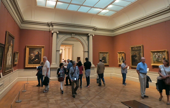 European paintings gallery