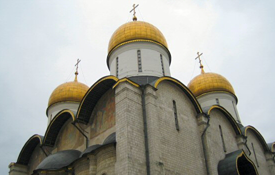 Assumption Cathedral in Kremlin, Moscow