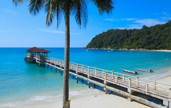 Jetty at Perhentian Islands