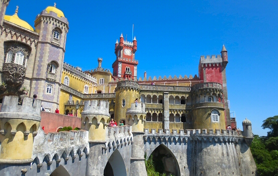 The fairytale castles of Sintra