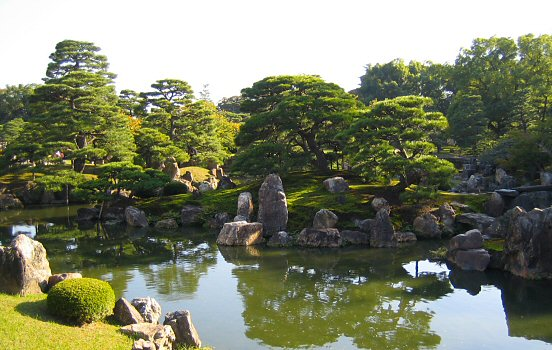 Garden of Nijo-jo castle