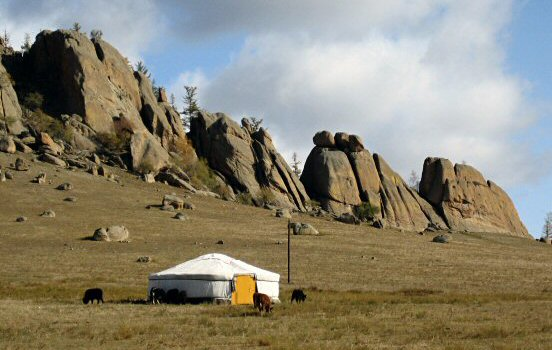 Tent in Mongolia