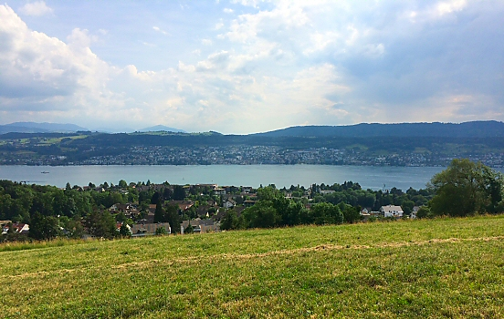 View of Lake Zürich