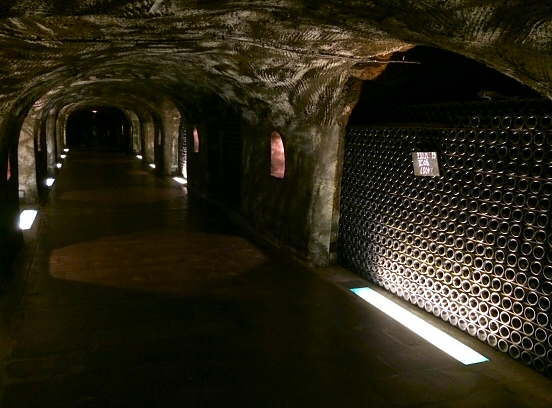 Moët & Chandon wine cellar in Epernay