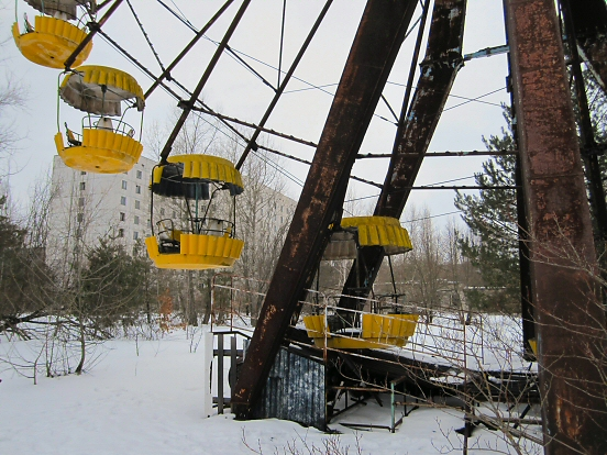 Ferris wheel in Pripyat