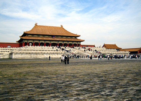 Hall of Supreme Harmony in Forbidden City, Beijing