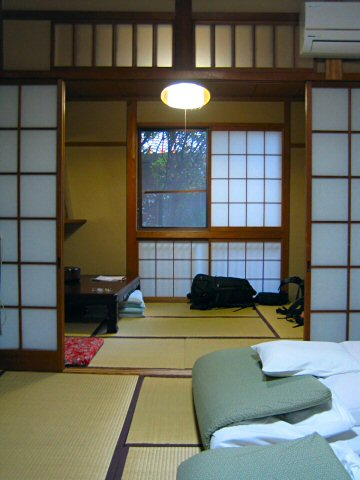 Staying at a ryokan in Kyoto