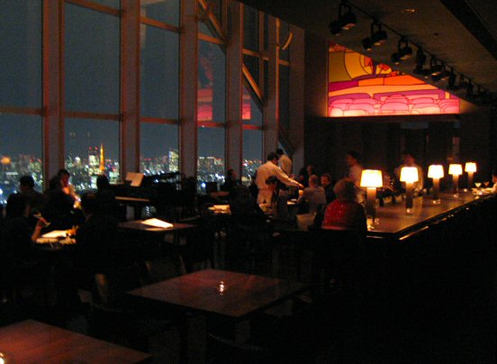 New York Bar on 52nd floor, Park Hyatt