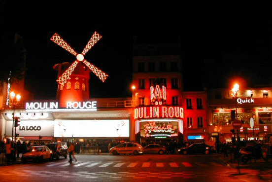 Moulin Rouge at Boulevard de Clichy