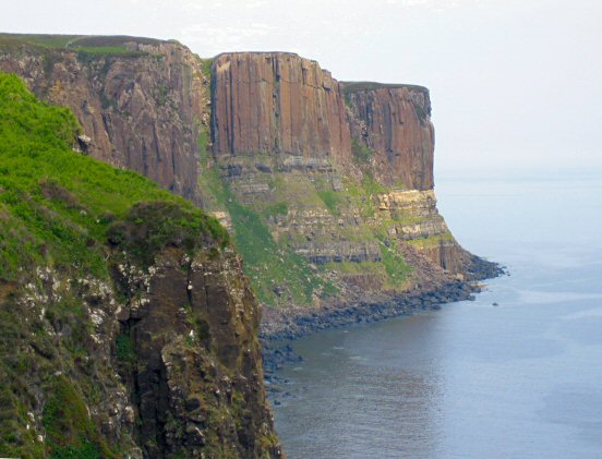 Kilt Rock at Staffin, Isle of Skye